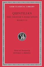 The Orator's Education (LOEB CLASSICAL LIBRARY, nr. 127)