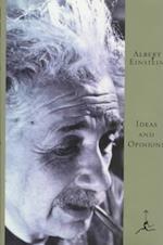 Ideas and Opinions af Albert Einstein