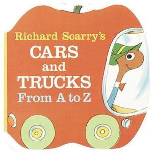 Bog, hardback Richard Scarry's Cars and Trucks from A to Z af Richard Scarry