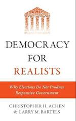 Democracy for Realists (Princeton Studies in Political Behavior)