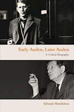 Early Auden, Later Auden
