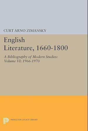 English Literature, 1660-1800
