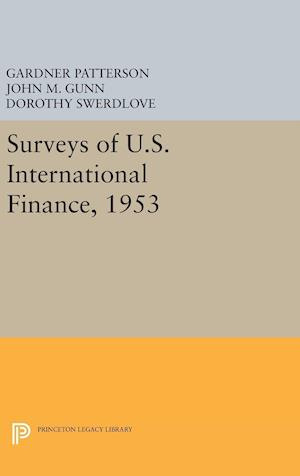 Surveys of U.S. International Finance, 1953