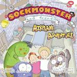 Sockmonster and Friends Airplane Adventure af Joseph Andrews