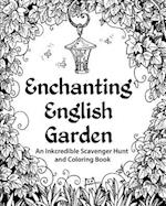 Enchanting English Garden Adult Coloring Book