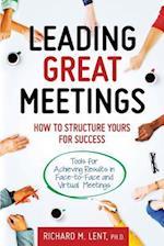 Leading Great Meetings