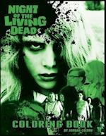 The Night of the Living Dead Coloring Book af Jordan R. Colton