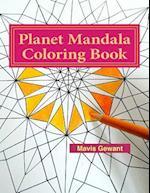 Planet Mandala Coloring Book