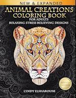 Animal Creations Coloring Book