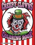 Creepy Clown Adult Coloring Book af Jordan R. Colton