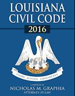 Louisiana Civil Code 2016 af Nicholas M. Graphia