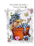 Sherri Baldy My-Besties Bloomin Besties Coloring Book af Sherri Ann Baldy