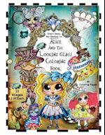 Sherri Baldy TM My-Besties TM Alice and the Looking Glass Coloring Book af Sherri Ann Baldy