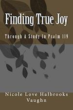 Finding True Joy af Nicole Love Halbrooks Vaughn