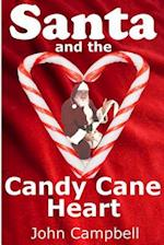 Santa and the Candy Cane Heart
