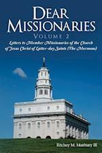 Dear Missionaries Volume 2