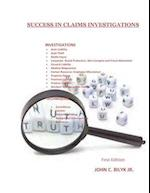 Success in Claims Investigations