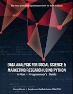 Data Analysis for Social Science & Marketing Research Using Python
