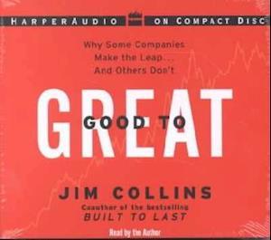 Lydbog, CD Good to Great af James C Collins