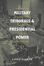 Mil. Tribunals & Pres. Power (PB)