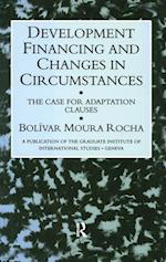 Development Financing & Changes (A Publication of the Graduate Institute of International Studies, Geneva)