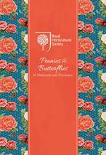 Rhs Peonies & Butterflies Notecard Wallet