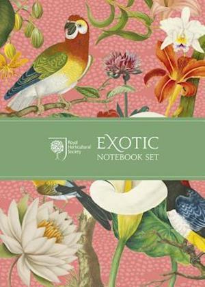 Royal Horticultural Society Exotic Notebook Set