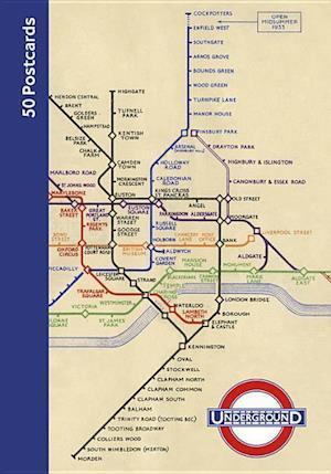 London Underground 50 Postcards