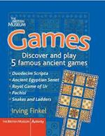 Games (British Museum Activity Books)