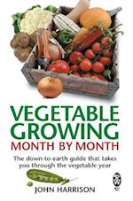 Vegetable Growing Month-by-Month af John Harrison