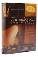 NKJV, The Chronological Study Bible, Leathersoft, Brown/Navy