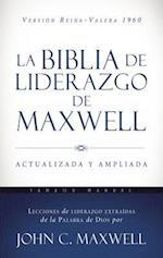 La Biblia de Liderazgo de Maxwell Rvr60 - Tamano Manual