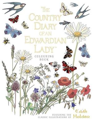 Bog, paperback The Country Diary of an Edwardian Lady Colouring Book af Edith Holden