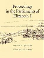 Proceedings in the Parliaments of Elizabeth I af Hartley