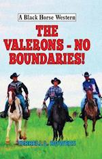 The Valerons - No Boundaries! (A Black Horse Western)