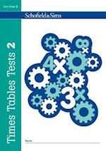 Times Tables Tests Book 2 (Times Tables Tests)