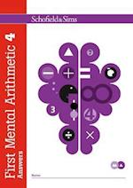 First Mental Arithmetic Answer Book 4 (First Mental Arithmetic)