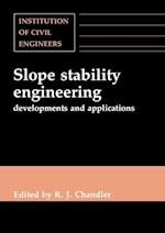 Slope Stability Engineering: Developments and Applications: Proceedings of the International Conference on Slope Stability