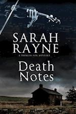 Death Notes (Phineas Fox Mystery, nr. 1)