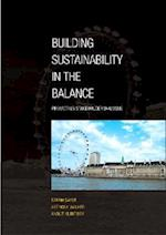 Building Sustainability in the Balance