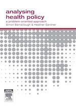 Analysing Health Policy af Simon Barraclough