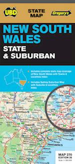 NSW State and Suburban Map 270 af UBD Gregorys