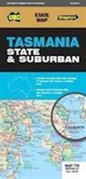 Tasmania State & Suburban Map 770 27th ed