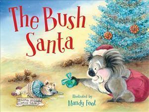 Bog, paperback The Bush Santa af Mandy Foot
