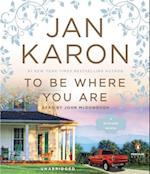 To Be Where You Are (Mitford)