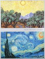 Van Gogh Sun Moon Stars Portfolio Notes af Vincent Van Gogh