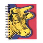 Andy Warhol Cow Layered Journal af Andy Warhol