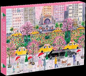 Bog, hardback Michael Storrings Spring on Park Avenue 1000 Piece Puzzle af Galison Mudpuppy