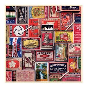 Bog, hardback Vintage Matchboxes 500 Piece Puzzle af Phat Dog Vintage