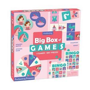 Bog, ukendt format Enchanting Princess Big Box of Games af Mudpuppy